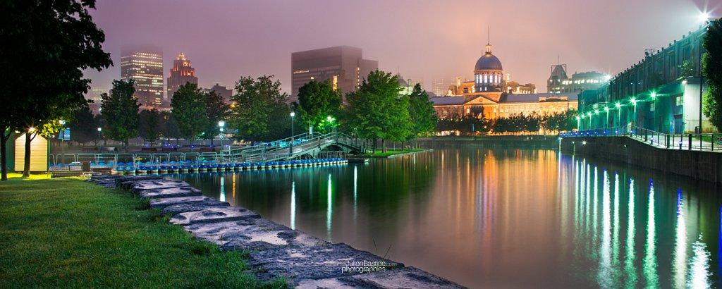 Bassin Bonsecours à Montréal